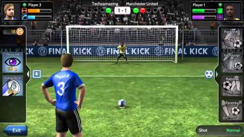Final kick Game Android Free Download