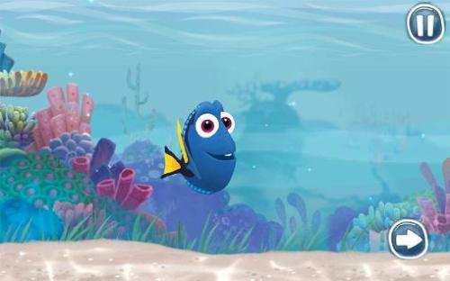 Finding Dory Keep Swimming Game Android Free Download