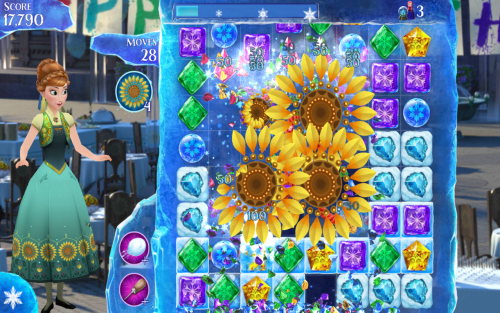 Frozen Free Fall Game Android Free Download