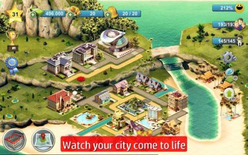City Island 4 Sim Tycoon Game Android Free Download