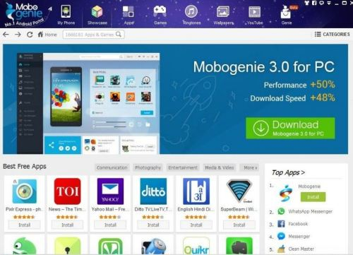 Download Mobogenie Apps Windows Free Download