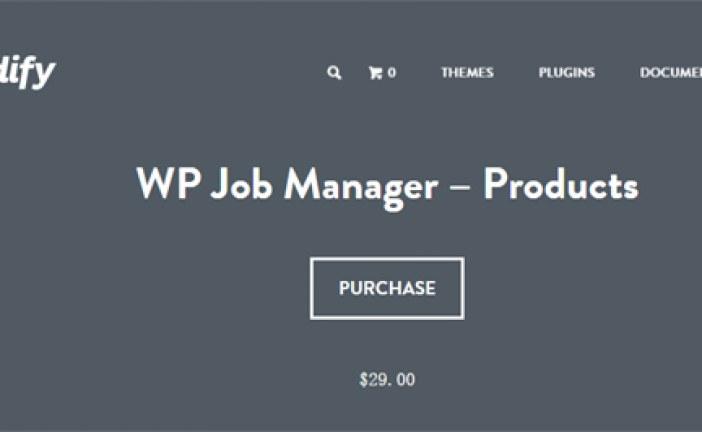 WP Job Manager Products Plugin WordPress Free Download