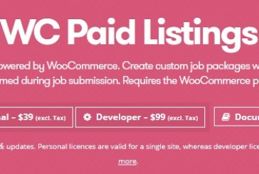 WP Job Manager WC Paid Listings Plugin WordPress Free Download