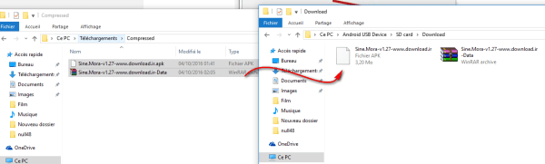 Using your PC (with USB cable) On Null48