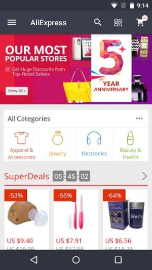 AliExpress Shopping App Android Free Download