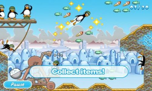 Crazy Penguin Catapult Game Android Free Download