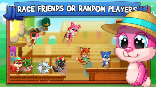 Fun Run Arena Multiplayer Race Game Android Free Download