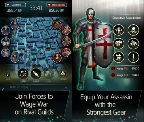 Assassin's Creed Memories Game Ios Free Download