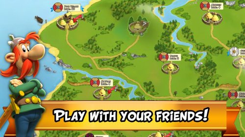 Asterix and Friends Game Android Free Download