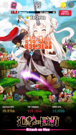 Attack on Moe Tap Defender Game Android Free Download