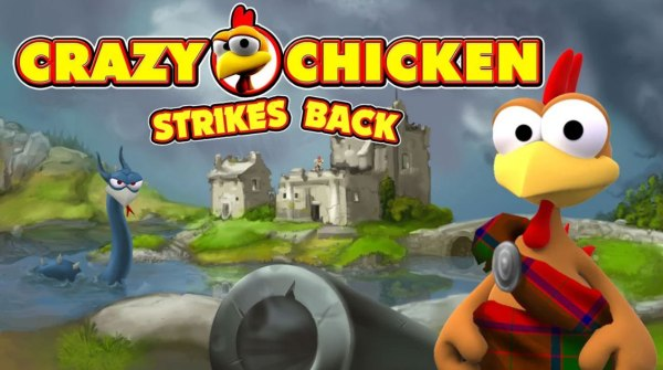 CRAZY CHICKEN strikes back Game Android Free Download