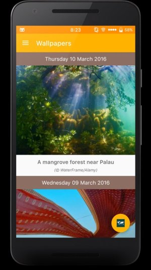 Daily Wallpapers from Bing App Android Free Download