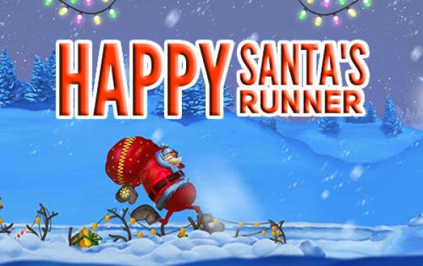 Happy Santas Runner Game Android Free Download