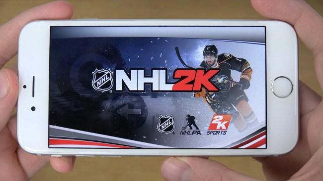 NHL 2K Game Ios Free Download