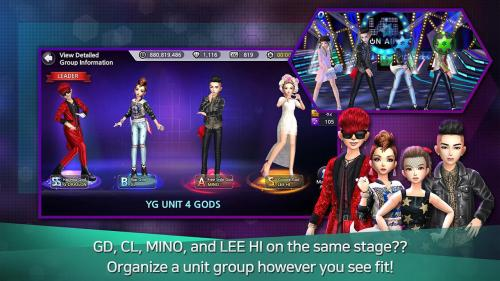 LINE Audition With YG Game Android Free Download