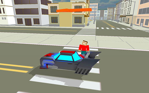 Blocky Fast Fury game Android Free Download