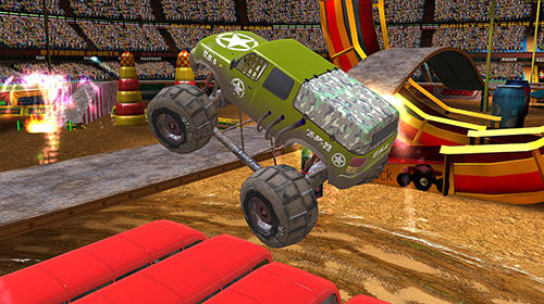 Monster Truck Arena Driver Game Android Free Download