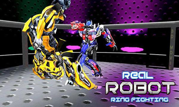 Real Robot Ring Fighting Game Android Free Download