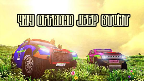 4x4 Offroad Jeep Stunt Game Android Free Download