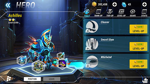 Heroes Infinity Game Android Free Download