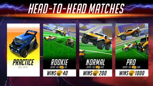 Rocketball Champions cup Game Android Free Download