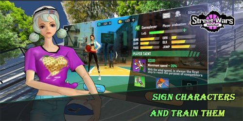 Street Wars Basketball Game Android Free Download