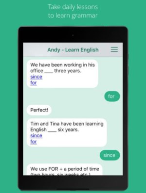 Andy - English Speaking Bot App Android Free Download