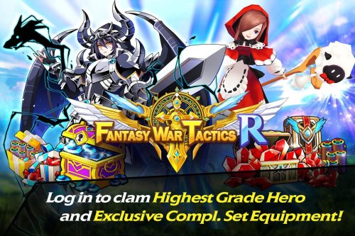 Fantasy War Tactics R Game Android Free Download