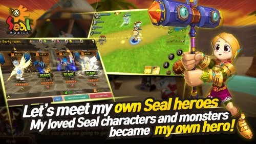 LINE Seal Mobile Game Android Free Download