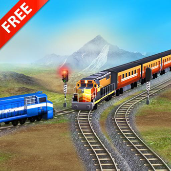 Train Racing Games 3D 2 Player Game Android Free Download