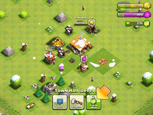 Clash of Clans Game Windows Phone Free Download