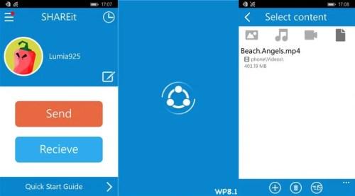 Shareit App Windows Phone Free Download