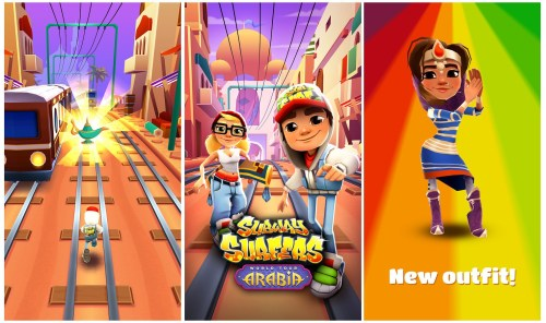 Subway Surfers Game Windows Phone Free Download