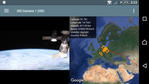 ISS Live App Android Free Download