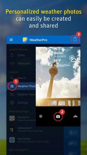 WeatherPro App iOS Free Download
