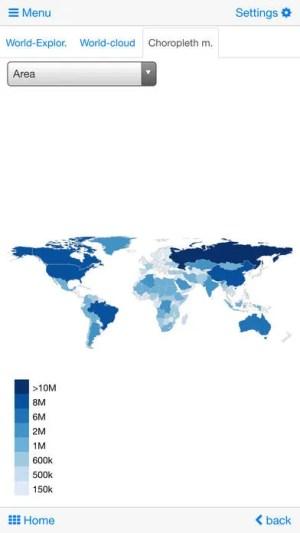 World Atlas & map MxGeo Pro App Android Free Download