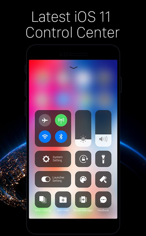 Launcher for iOS New iPhone X ios 11 Theme Apk Android Download