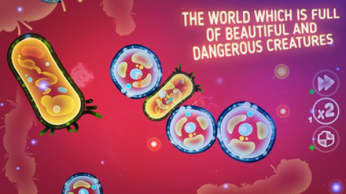 Micro World Evolution - Bacteria Battle PRO Ipa Game Ios Free Download