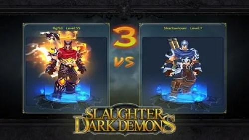 Slaughter Dark Demons Pure epic dark theme Ipa Game iOS Free Download