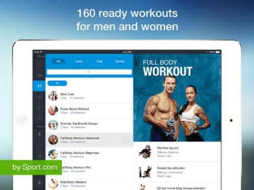 All-in Fitness HD Ipa App iOS Free Download