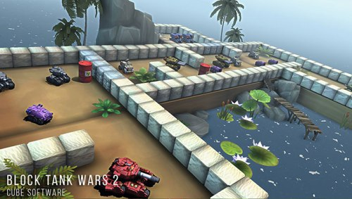 Block Tank Wars 2 Apk Game Android Free Download