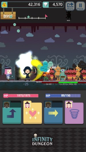 Infinity Dungeon Evolution Ipa Game iOS Free Download