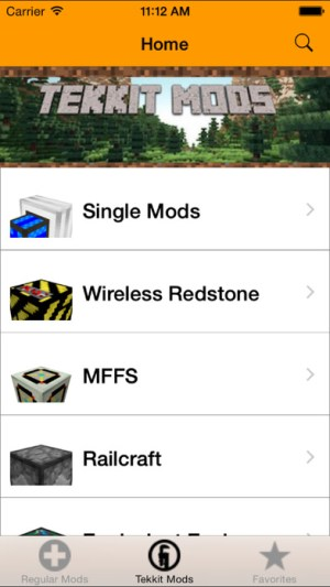 Mods for Minecraft Ipa App iOS Free Download