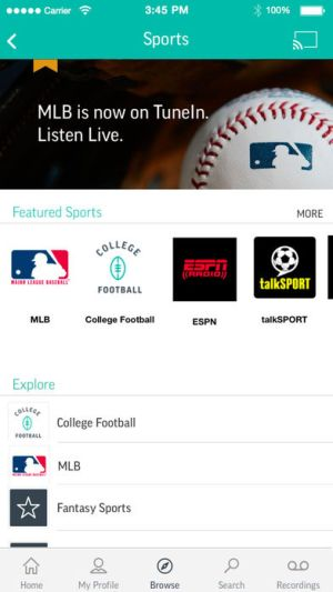 TuneIn Radio Pro Ipa App iOS Free Download