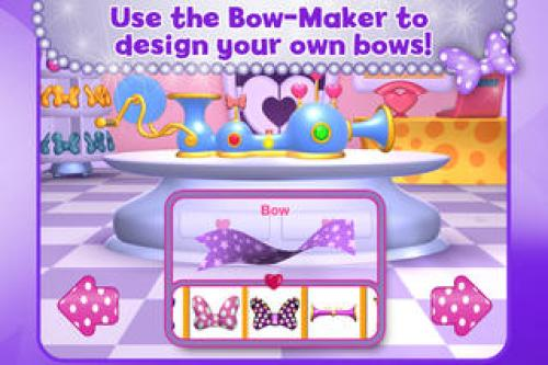 Minnie Bow Maker Ipa Game iOS Free Download