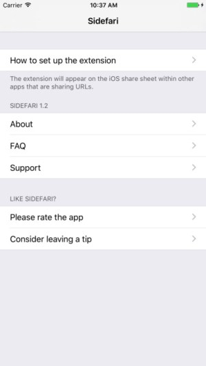 Sidefari - Web-browsing companion for Safari Ipa App iOS Free Download