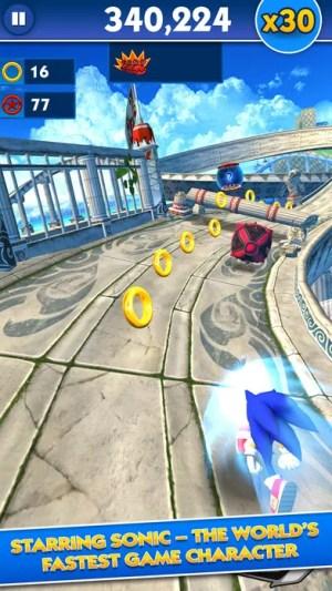 Sonic Dash Ipa Game iOS Free Download