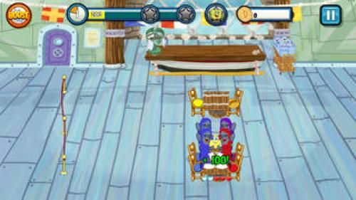 SpongeBob Diner Dash Deluxe Ipa Game iOS Free Download