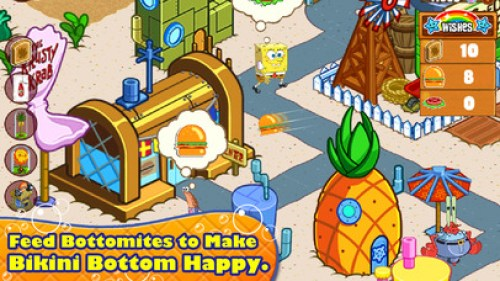 SpongeBob Moves In Ipa Game iOS Free Download