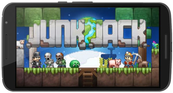 Junk Jack Apk Game Android Free Download